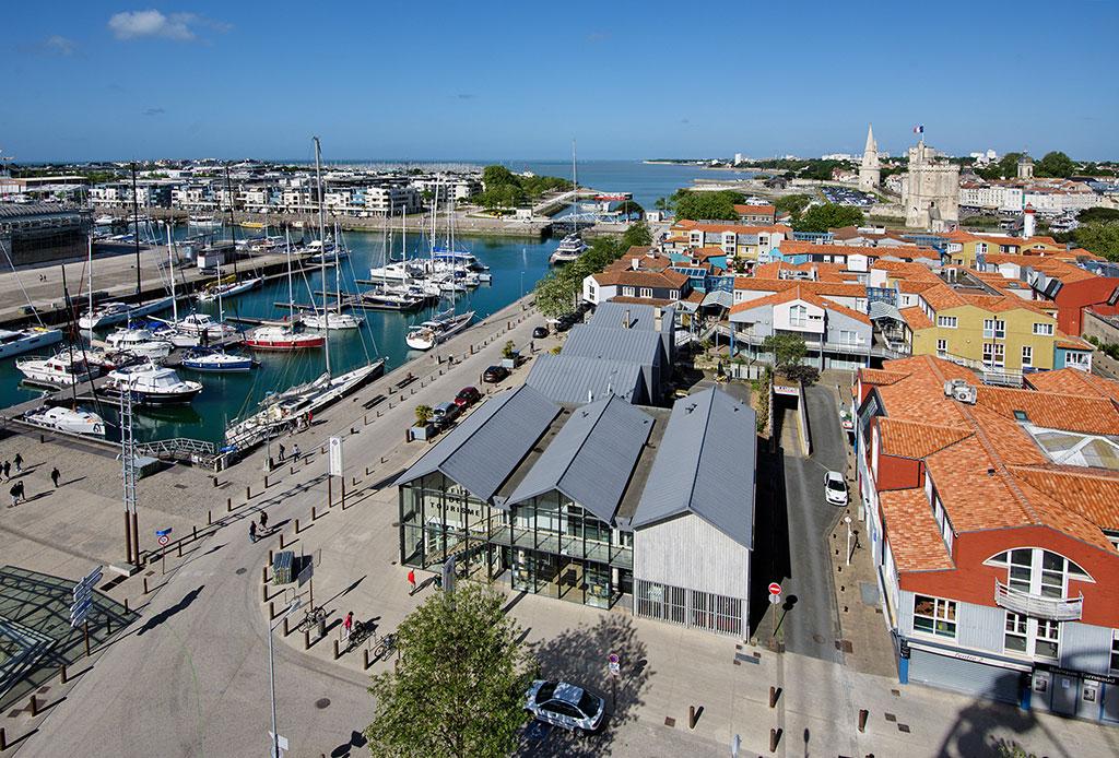 Une vue imprenable sur La Rochelle en haut de La Grande Roue